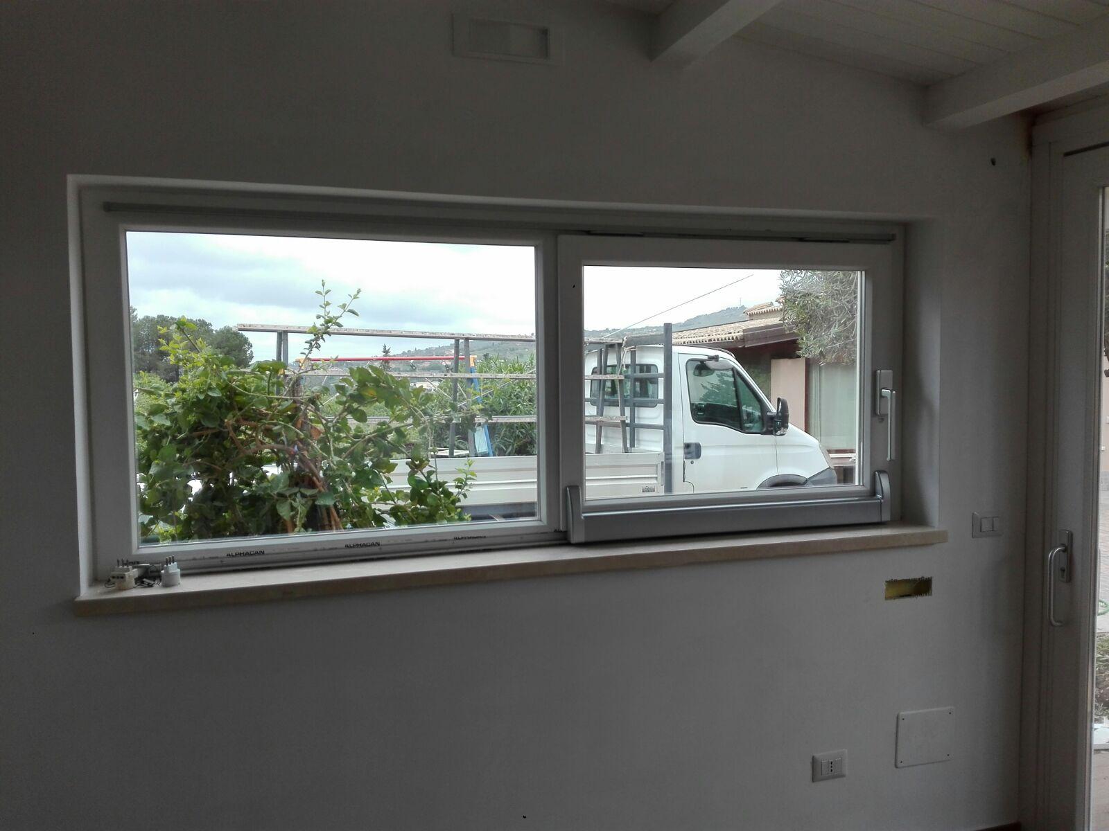 realizzazione finestra